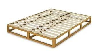 Priage by Zinus Platforma 8 Inch Wood Bed Frame Mattress Foundation  Twin  Retail 176 99