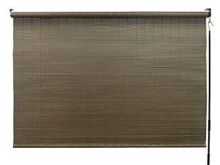 Radiance 72 inch All Natural Bamboo Crank Shade  Retail 134 99