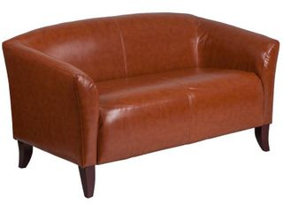 Flash Furniture HERCUlES Imperial Series Cognac leather Soft loveseat