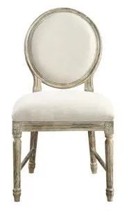 The Gray Barn Willow Way Sandstone Grey and Cream Dining Chair  Set of 2  Retail 428 99
