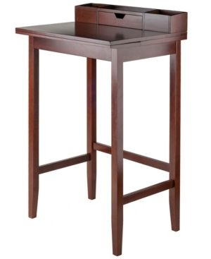 Incomplete Item Archie High Desk  legs Only  Brown  Retail 181 49