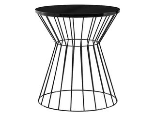 Elle Decor lulu Bent Metal Side Table  Damaged See Pictures  Retail 84 99