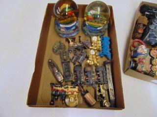 Metal Train pieces   Train Globes
