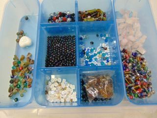 Glass and Stone Beads
