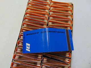 Vintage Braniff Airlines Matchbooks   Complete Box