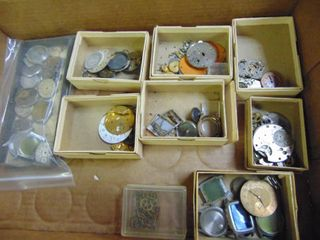 Miscellaneous Watch Repair Pieces