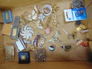 Costume Jewelry Brooches   Military Medals