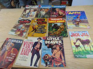 lone Ranger   lassie   Gunsmoke Comic Books