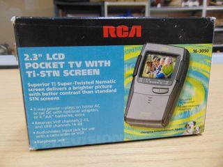 RCA 2 3  Pocket TV
