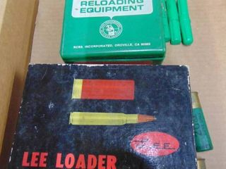 lee and RCBS   Reloading Pieces  Parts