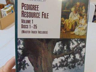 FamilY Search Pedigree Resource File