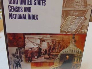 1880 United State Census and National Index