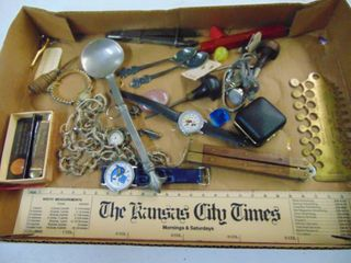 New Holland Pocket Knife   Jeweler Pieces   Rolex Miniature Spoons and More