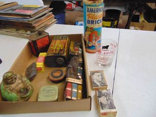 Miscellaneous Tins and Vintage Toys