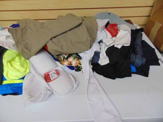 All Clothes on Table Top   Store Return   Overstock