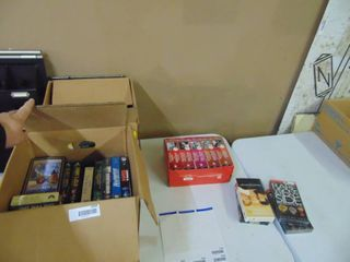 2 Boxes of VHS Tapes