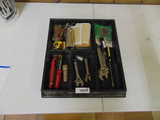Organizer with Miscellaneous Tools