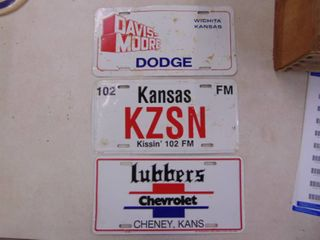 Pair of Novelty Dealer Tags