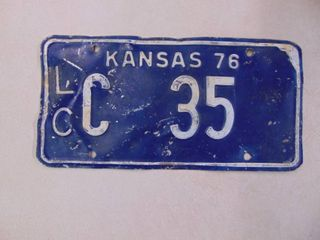 1976 liceense Tag
