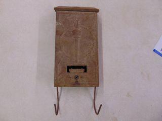 Vintage Metal Postal Box