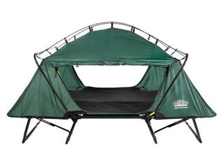 Kamp Rite TB343 Double Tent Cot with Rainfly   Green  Retail 263 49