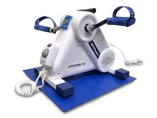 Exerpeutic Activcycle Motorized Pedal Exerciser   White  Retail 107 11