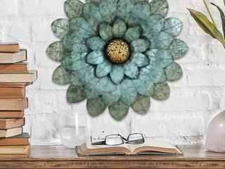 Stratton Home Morning Glory Flower Wall Decor