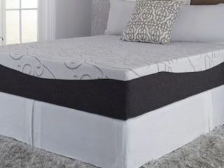Northern lights Choose Your Comfort 14 inch Gel Memory Foam Mattress  Retail 612 99