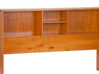 Kansas Solid Wood Bookcase Headboard Full Size By Palace