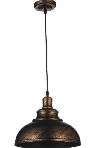 Carbon loft Paulina 1 light Antique Copper Chandelier  Retail 105 35