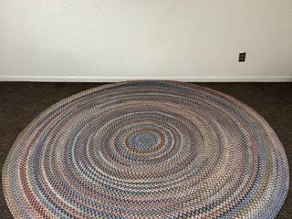 Wool lake Multicolored 8 x8 Butterfield