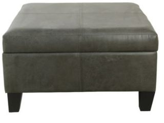Copper Grove Mdina large Faux leather Storage Ottoman   Retail 144 99