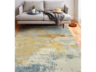 Alba Contemporary Machine Made Area Rug Retail 222 99