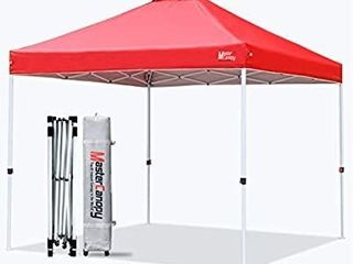 MASTERCANOPY Pop up Canopy Tent Commercial Instant Canopy with Wheeled Bag
