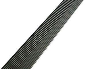 M D Building Products 43854 1 3 8 Inch by 36 Inch Carpet Trim Fluted