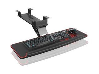 Eureka Ergonomic Height and Angle Adjustable Computer Keyboard Tray   Black