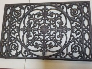 Decorative Metal Table Tray