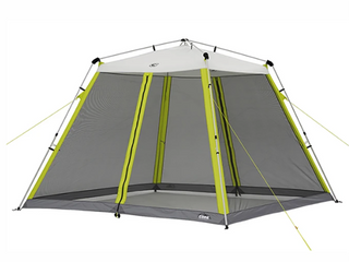 Core 10 X 10 foot Screen House Canopy Tent W  Ground Stakes   Tie Downs