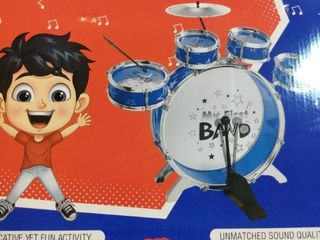 Jazzables drum set for kids 8 piece