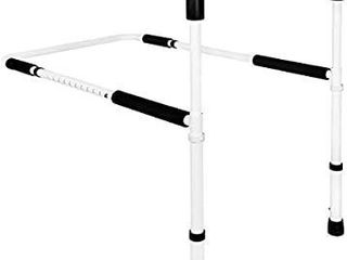 Medical Adjustable Bed Assist Rail Handle and Hand Guard Grab Bar  Bedside Safety and Stability