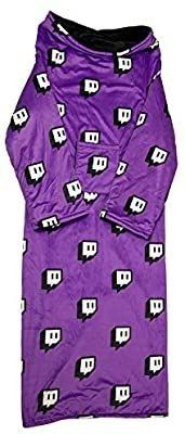 Twitch Fleece Blanket Onesie   Purple