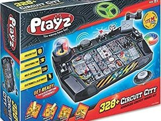 Playz Advanced Electronic Circuit Board Engineering Toy For Kids   328