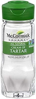 McCormick Gourmet All Natural Cream Of Tartar  2 62 oz