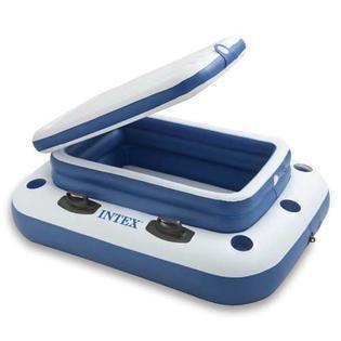Intex Inflatable Mega Chill II Cooler Float  48  x 38