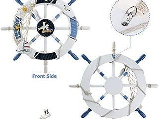 Brand  WINOMO 4 5 out of 5 stars 124Reviews WINOMO 18 Inch Wheel Wall Decor Nautical Decor Nautical Boat Steering Wheel