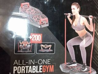 Fusion Motion Portable Gym With 8 Accessories Including Heavy Resistance Band