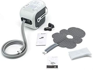 Ossur Cold Rush Therapy Machine System With Knee Pad  Ergonomic  adjustable Wrap Pad Included  Quiet  lightweight and Strong Cryotherapy Freeze Kit Pump