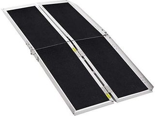 Extra Wide 31 A60   WAl  800 lbs Weight Capacity  Wheelchair Ramp  Ramps for Wheelchairs  Wheelchair Ramps for Home  Portable Wheelchair Ramp  Wheelchair Ramps for Steps  Multi Fold  Aluminum Alloy