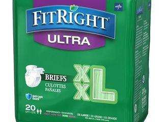 FitRight Ultra Briefs BRIEF  ClOTHlIKE  FITUlTRAXXl  XXl  60 69   XXl