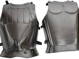 Armor Venue Medieval Warrior Breastplate   Fitted   Metallic   One Size